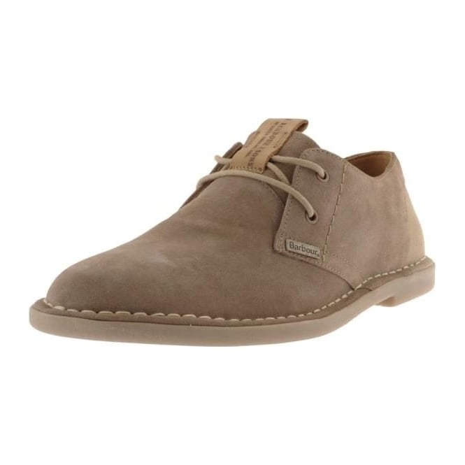Barbour Mens Wingate Suede Derby Shoe