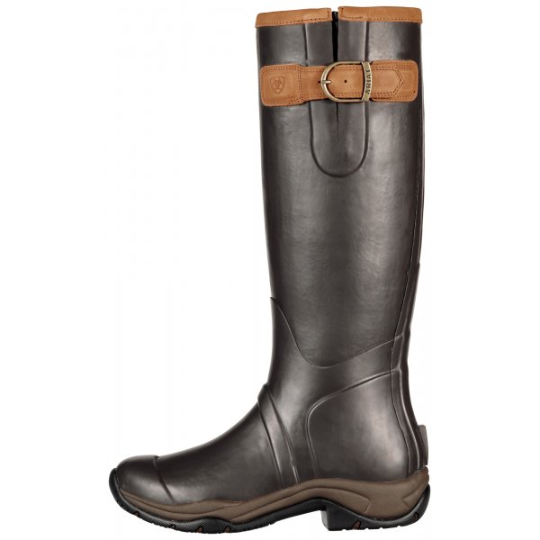 692fe044900561 Ariat Womens Storm Stopper Tall Boot in Brown|Parkinsons Lifestyle