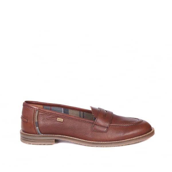 outlet on sale look out for info for Barbour Womens Dianne Loafer in Chestnut|Parkinsons Lifestyle