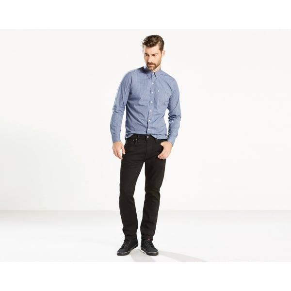 8ffd2715 Levis Mens 502 Regular Taper Fit Stretch Jeans in Nightshine|Parkinsons