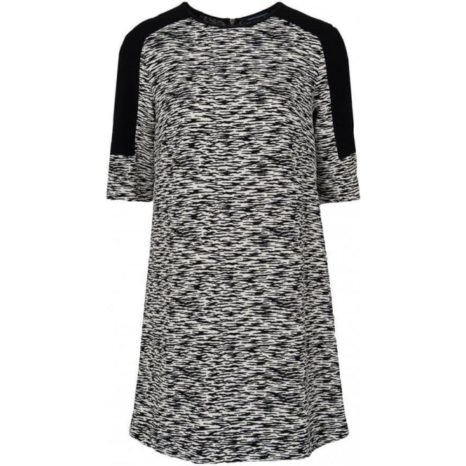 French Connection Womens Sahara Wave Dress in Acid Multi
