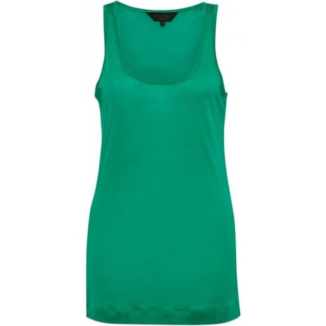 Great Plains Womens Featherweight Jersey Vest in Seahorse Green