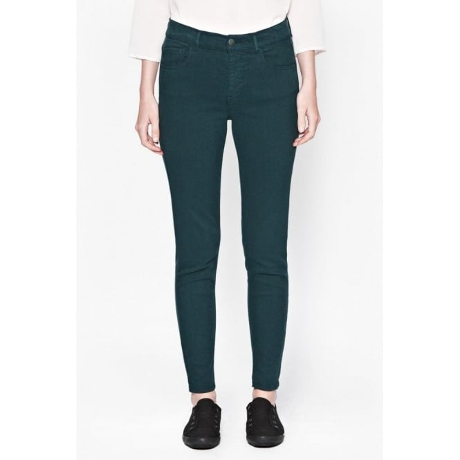 French Connection Cute-T Pocket Jean in Pine Green