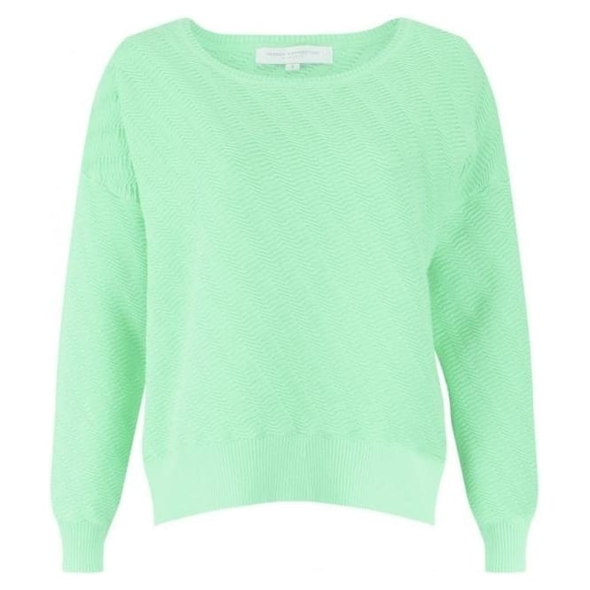French Connection Womens Miami Mozart Jumper in Mint Mojito