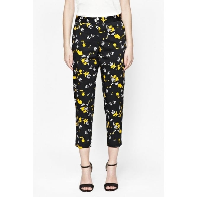 Great Plains Womens Spring Blossom Trousers in Daffodil
