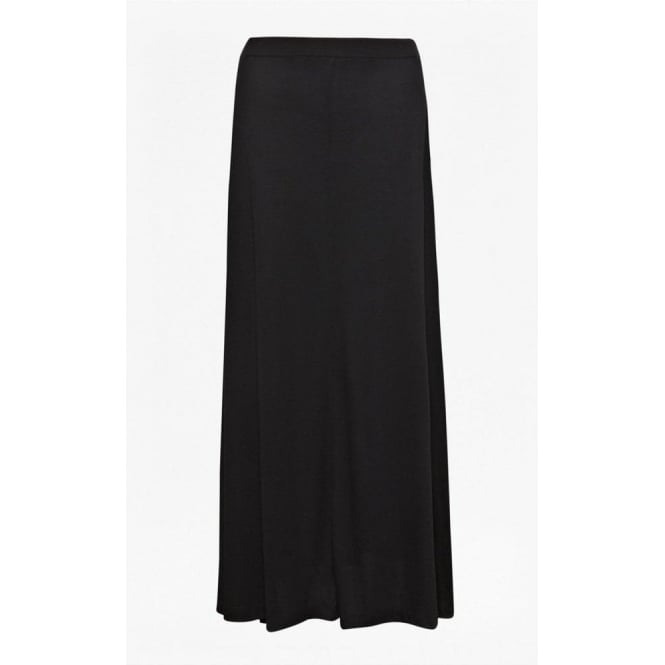 French Connection Womens Golden Maxi Skirt in Black