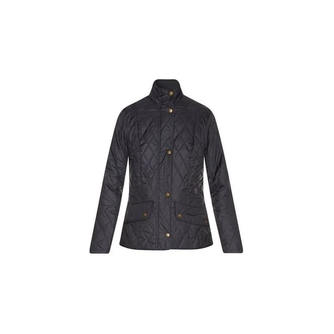 Barbour Womens Flyweight Cavalry Quilted Jacket in Navy