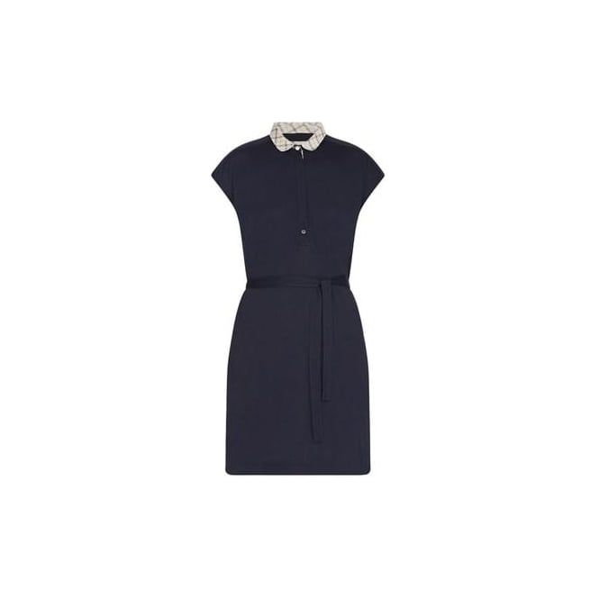 Barbour Womens Slateford Dress in Navy