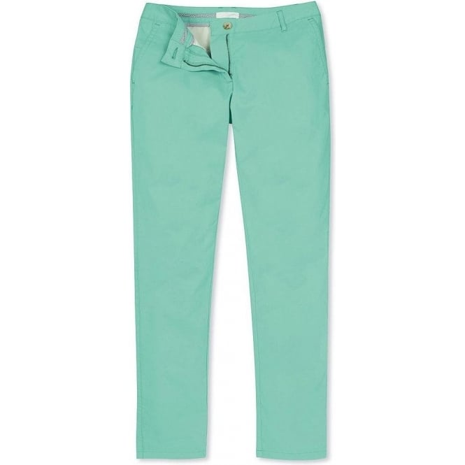 Crew Clothing Womens Walker Chino in Pale Lagoon