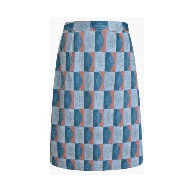 Seasalt Womens Lawhippet Skirt In Scraffito Circle