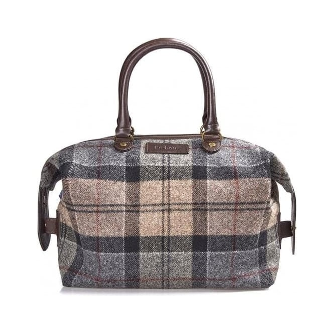 Barbour Munro Tartan Mini Holder in Winter Tartan