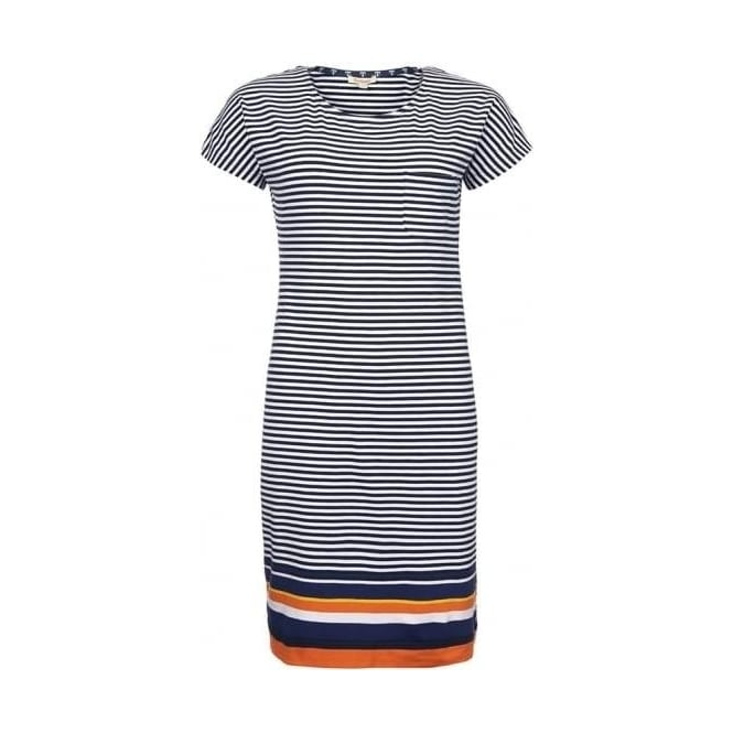 Barbour Womens Harewood Dress in Navy