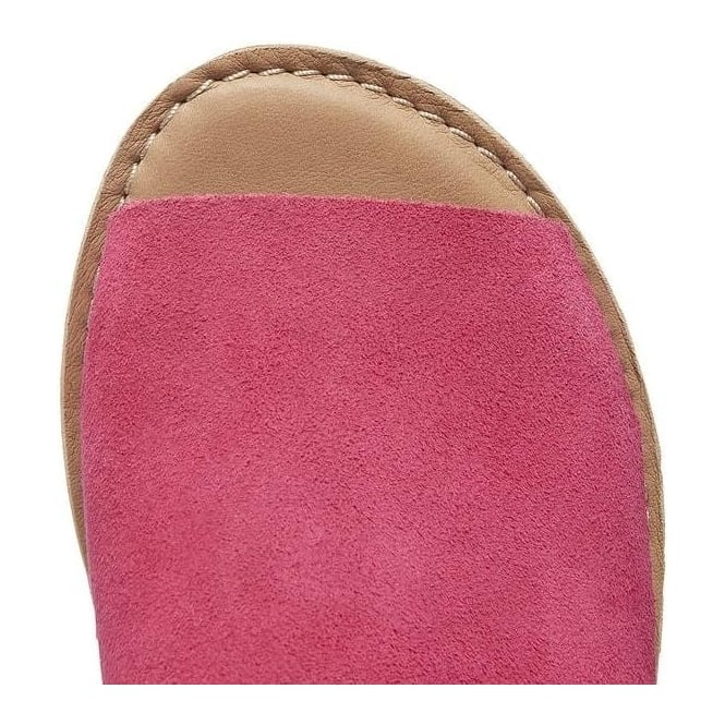 4fa48414b1d Timberland Womens A14IW Sheafe Y-strap Sandal in Vivacious Pink/Tan