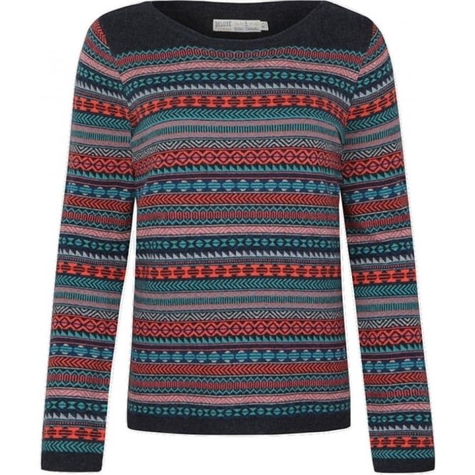 Seasalt Womens Heritage Jumper in Troika Fathom