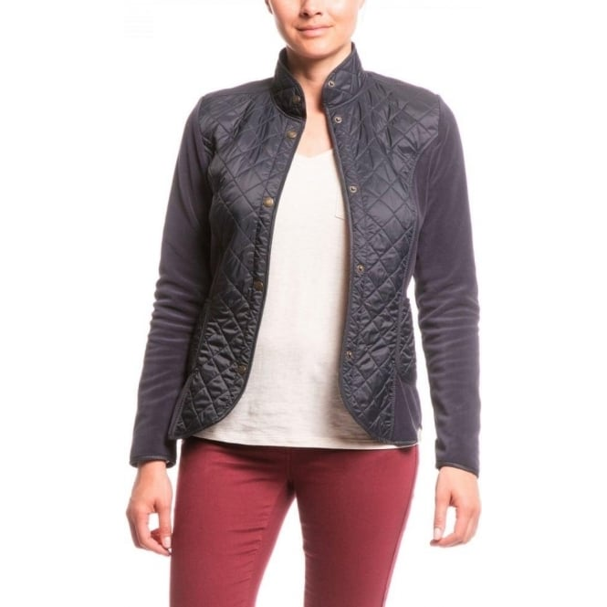 Aigle Womens Jelyfleece Jacket in Midnight