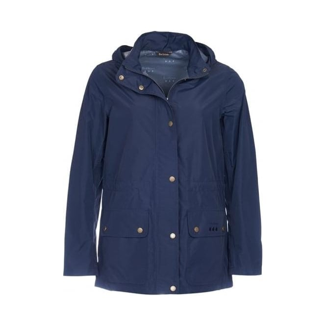 Barbour Womens Cirruss Jacket in Navy