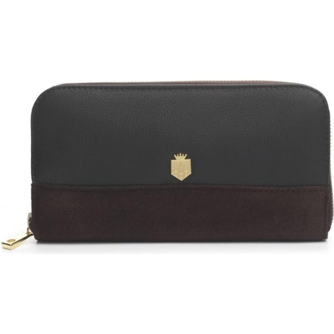 Fairfax & Favor Womens Salisbury Purse in Chocolate