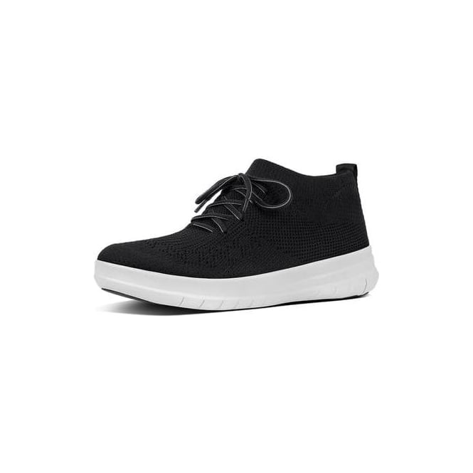 dc3f79882f7d Fitflop Uberknit Slip-On High Top Sneaker in Black