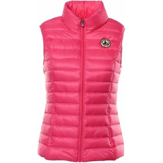 Jott Womens Seda Gilet in Fuschia