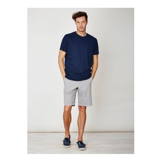 Thought Mens Lorenzo Hemp Jersey Top in Navy