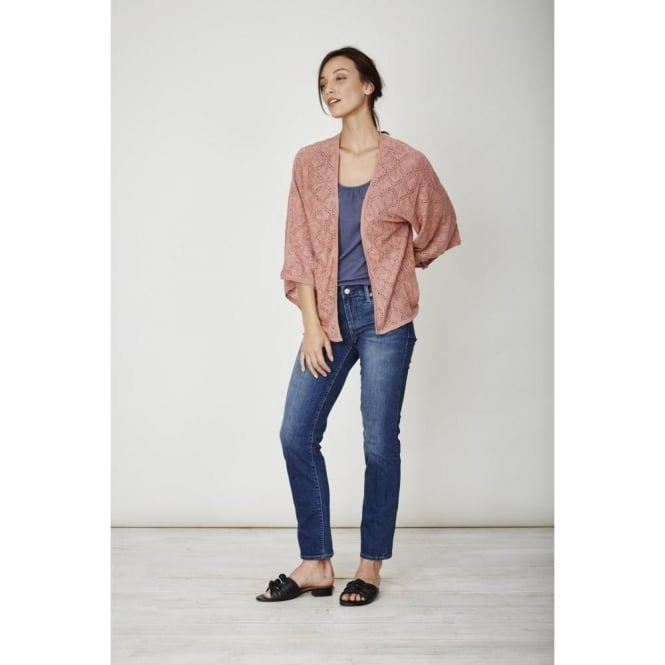 Thought Womens Sedona Cardi in Terracotta