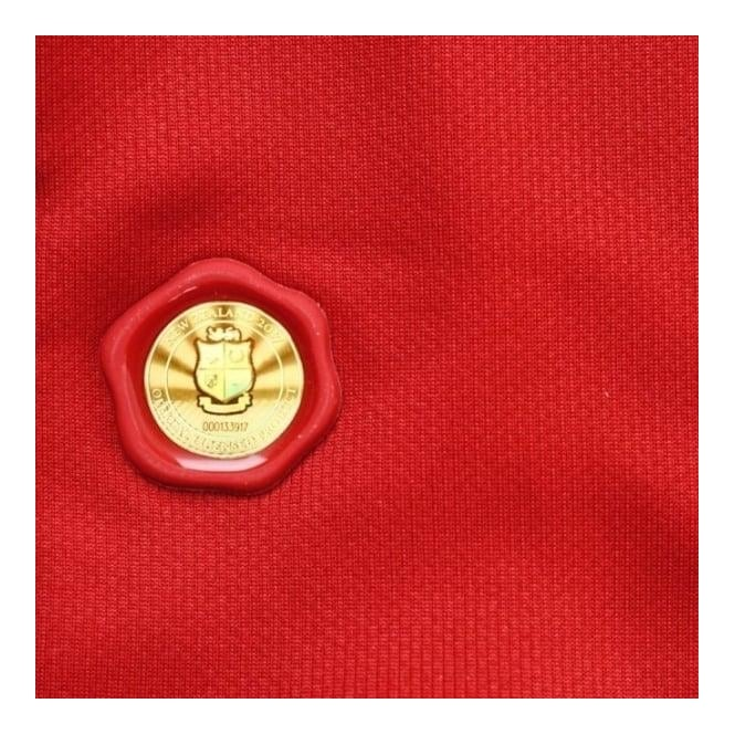 2815a11e684 Mens British & Irish Lions Vaposhield Matchday Pro Jersey in Tango Red