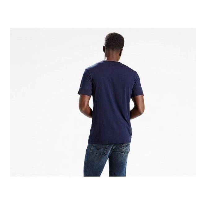 Levi's Mens Sunset Pocket Tee in Saturated Indigo