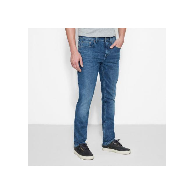 9a8ff6d6 Timberland Mens Sargent Lake Jeans in Mid Indigo Parkinsons Lifestyle
