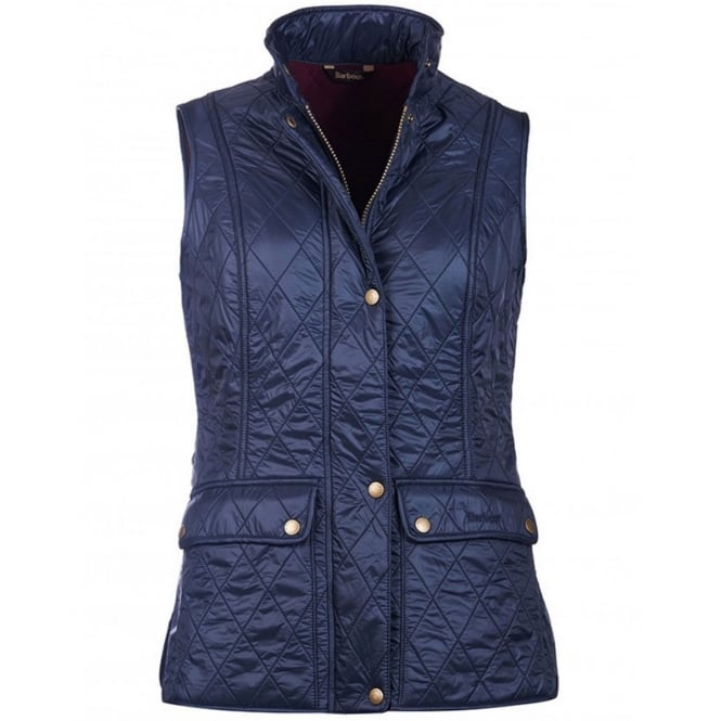 Barbour Womens Wray Gilet in Navy