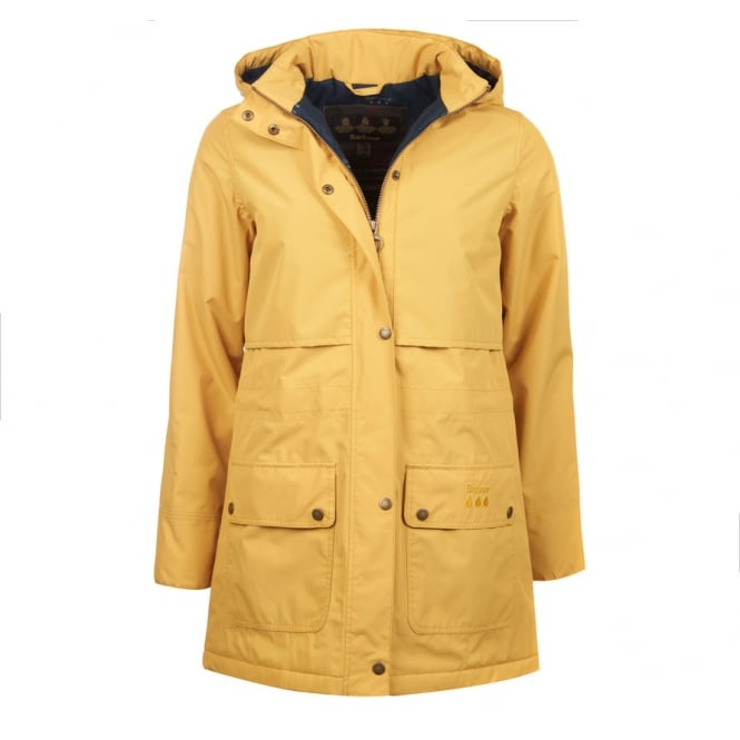 Barbour Womens Stratus Jacket in Sun Gold