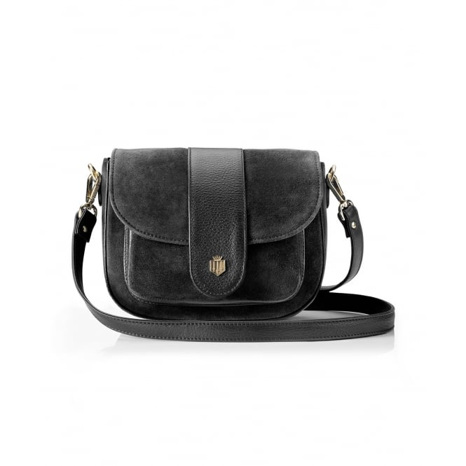 Fairfax & Favor Womens Highcliffe Handbag in Black