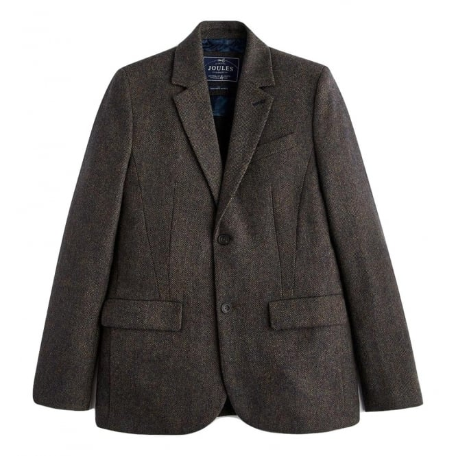 Joules Mens Langworth Tweed Jacket in Multi Tweed