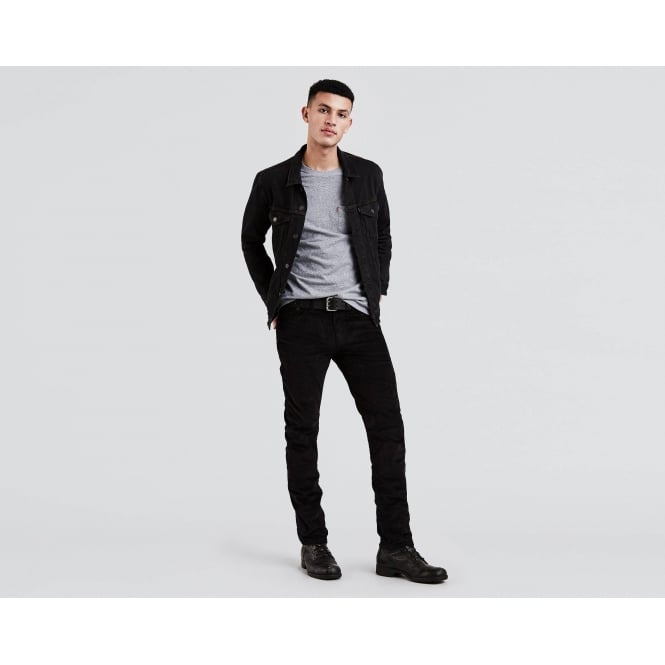 335cd1541a9 Levi's Mens 511 Slim Cord Trousers in Black|Parkinsons Lifestyle