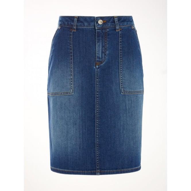 be18e07f8b White Stuff Carpenter Denim Skirt in Denim|Parkinsons Lifestyle