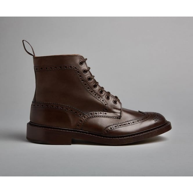 Trickers Mens Stow Boot in Espresso
