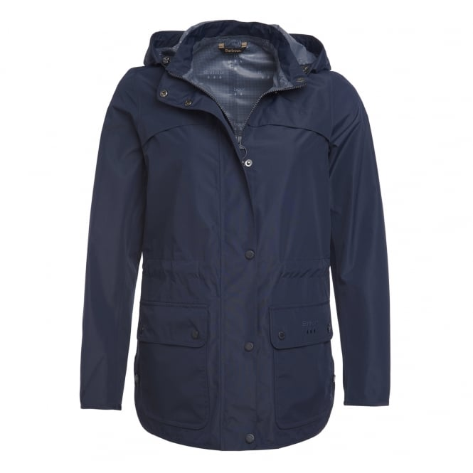 Barbour Womens Barometer Jacket in Navy