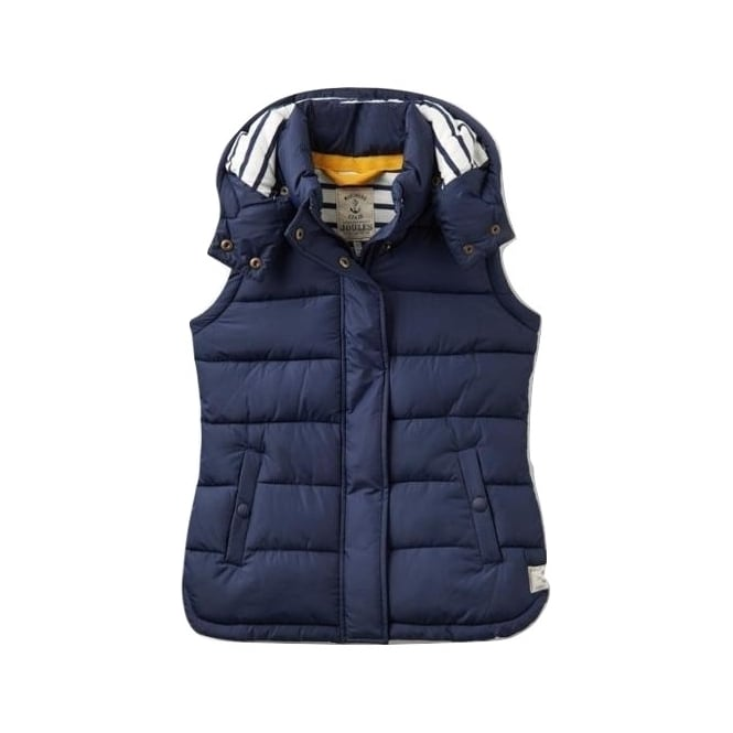 9cc37a3ac Womens Wavely Padded Gilet in French Navy