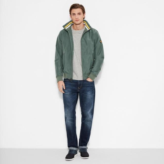 Timberland Mens Mount Kearsage Sailor Bomber Jacket in Duck Green 361c42d54ad