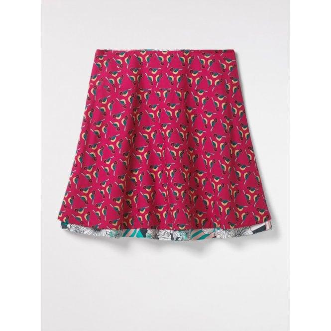 9946fc210e White Stuff Bluebird Short Reversible Skirt in Multi|Parkinsons ...