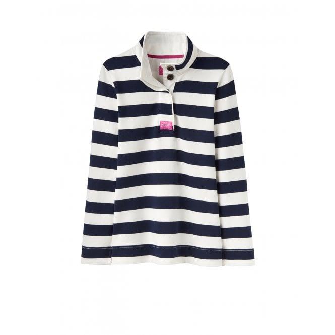 ceb227027b483b Joules Womens Saunton Sweatshirt in French Navy Stripe Parkinsons ...