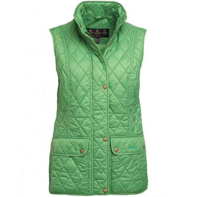 Barbour Womens Otterburn Gilet in Clover