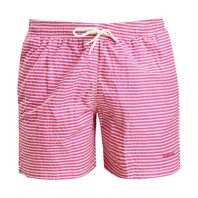 abeea8591a Barbour Mens Milton Swim Short in Pink|Parkinsons Lifestyle