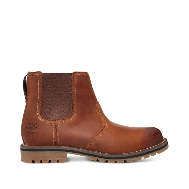 4fd3b4e5fe88 Timberland A13HZ Larchmont Chelsea Boot in Chelsea Brown
