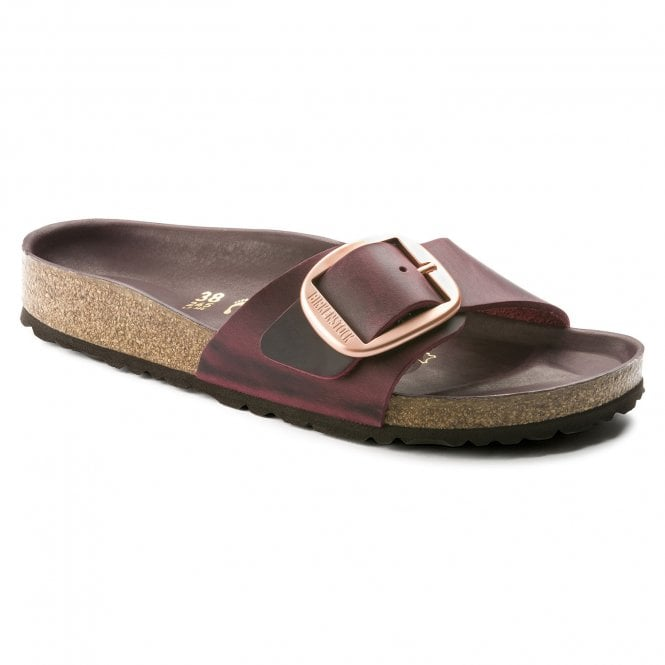 8674b4019fe0 Birkenstock Madrid Big Buckle Narrow Fit in Zinfandel