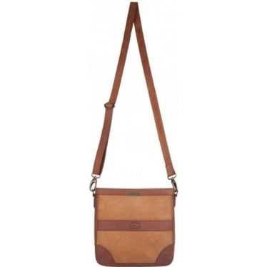 Womens Ardmore Messenger Bag in Brown