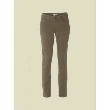 White Stuff Womens Sorell Straight Leg Jean in Chive Green