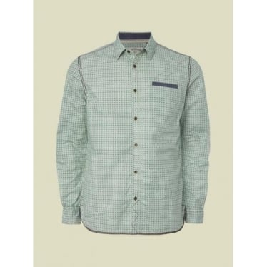 Mens Starburst Shirt in Green