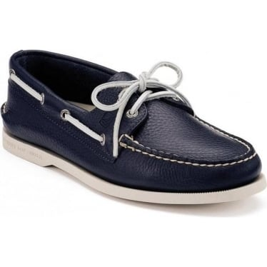 Mens Authentic Original Boat Shoe in Navy