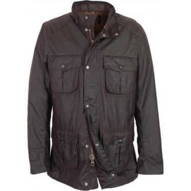 Mens Corbridge Waxed Jacket in Rustic