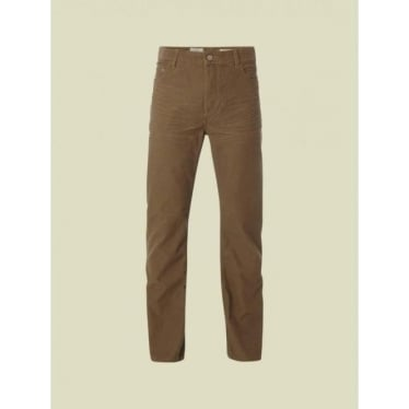 Mens Strike Cord Trouser in Sand